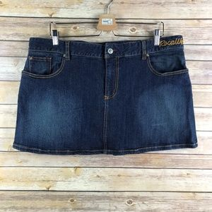 RocaWear Denim Mini Skirt (Bin: SK162)